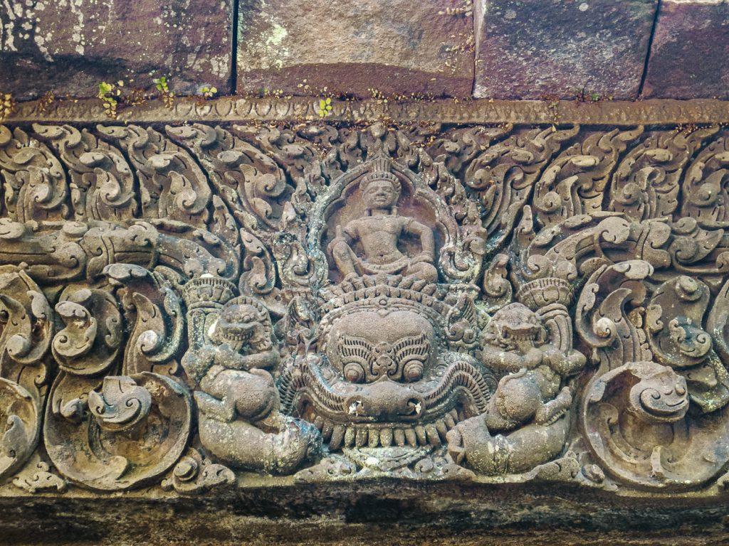 Wat Phu Laos ornamenten