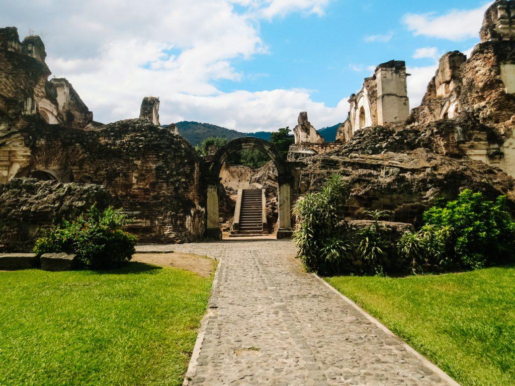ruines in Antigua Guatemala
