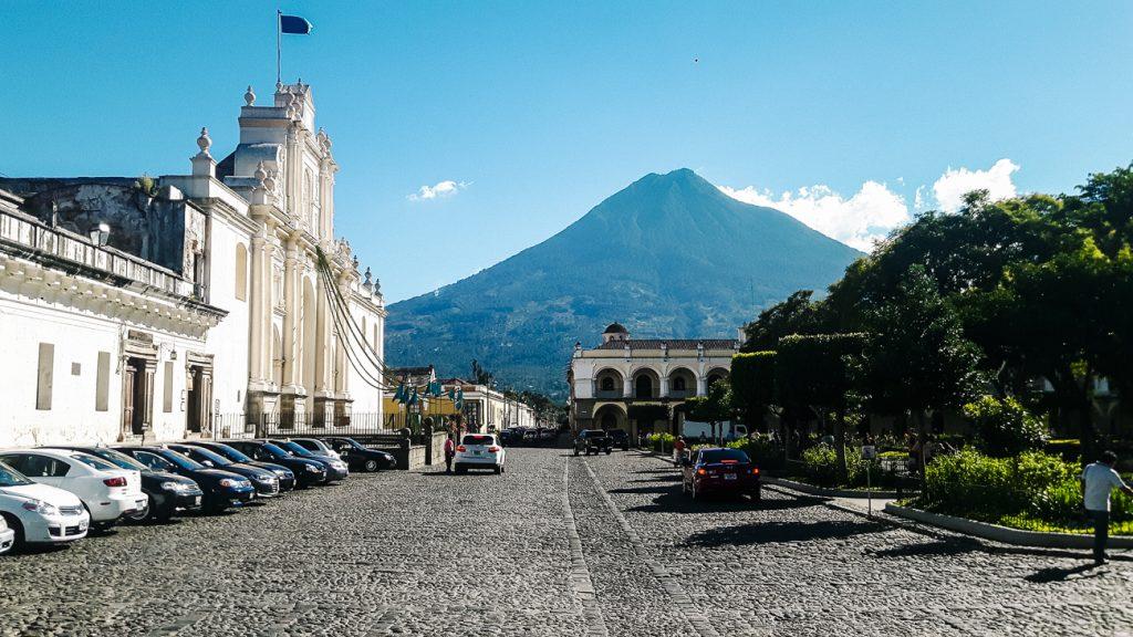 centrale plaza Antigua Guatemala