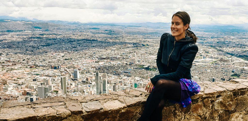 monseratte view Bogota