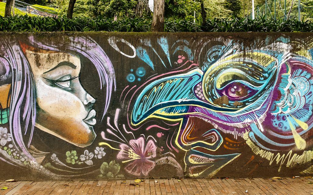 best things to do in Bogota - spot streetart