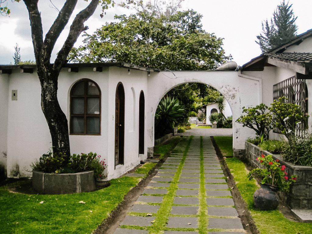 Ecuadorian artist Guayasamín museum in Quito to admire the art of Oswaldo Guayasamín