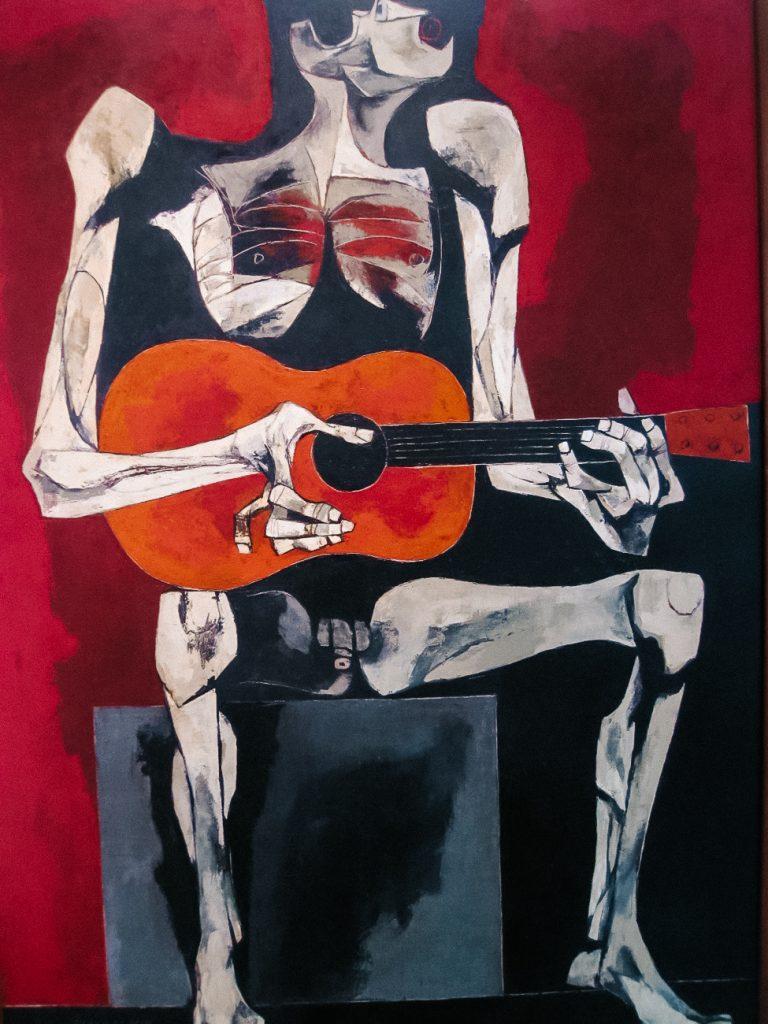 De kunst van Oswaldo Guayasamin wordt gezien als sociaal kritisch