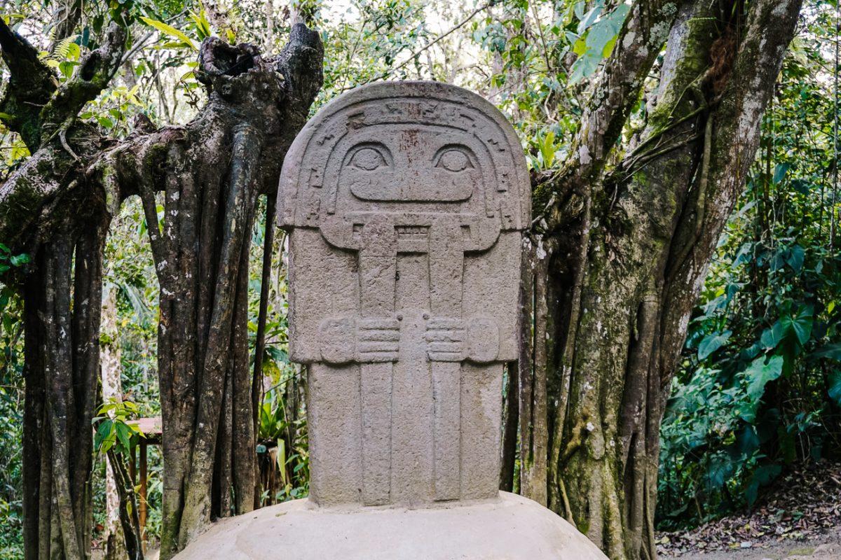San Agustin archaeological park Colombia