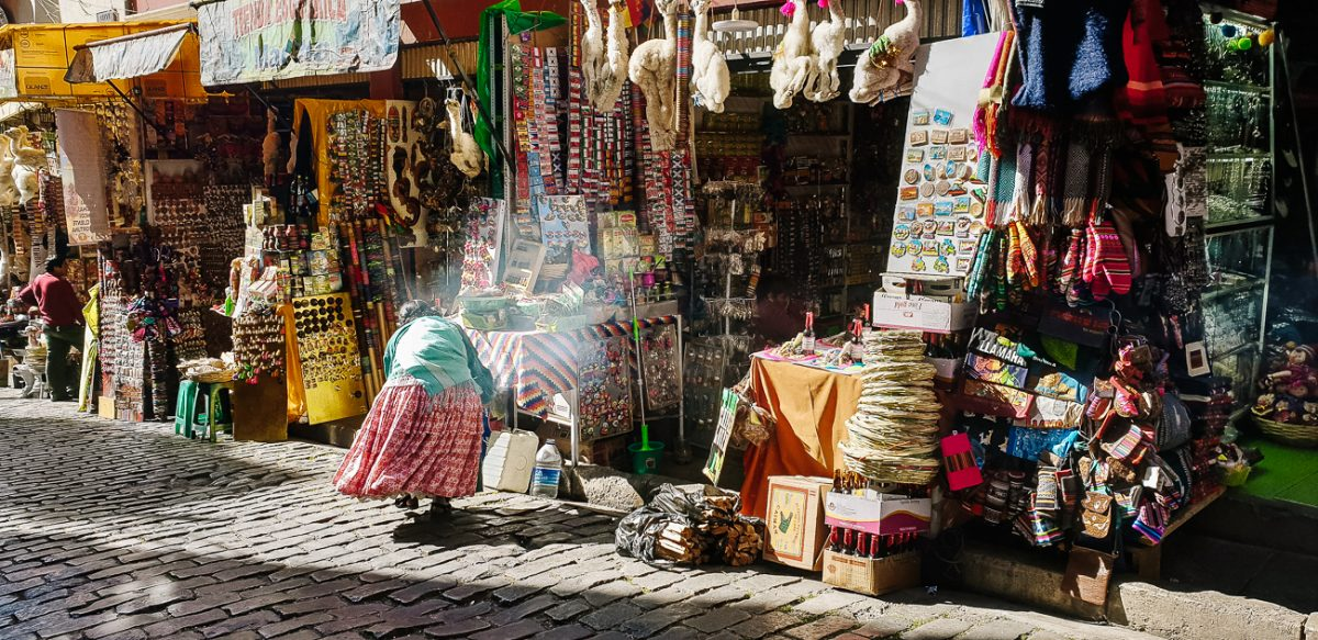 Discover the best places for shopping in La Paz Bolivia
