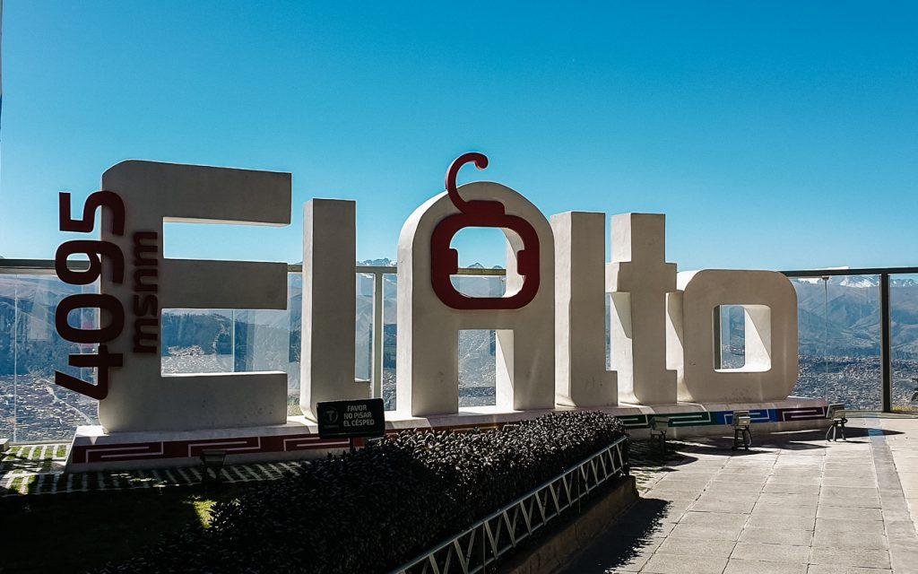 kabelbaan station El Alto