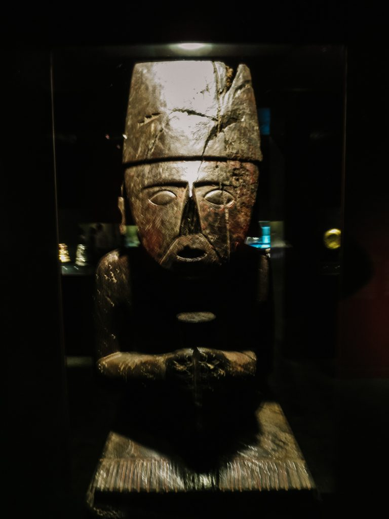Admire pre-columbian art and history at museo Larco