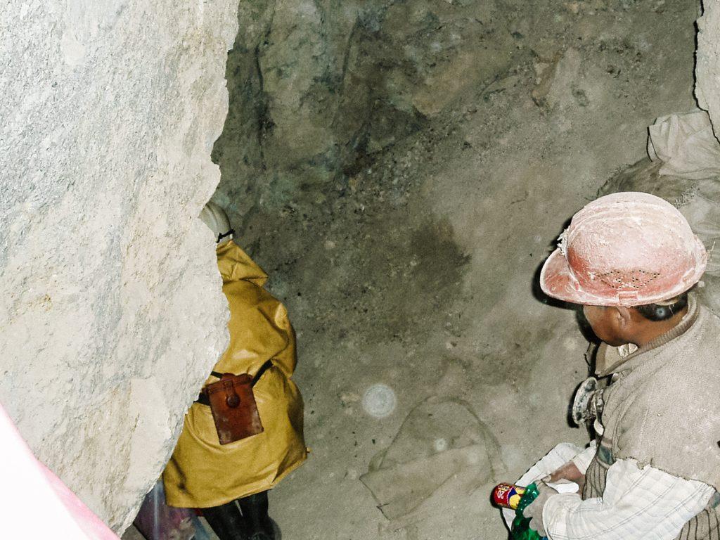 op bezoek in de Potosi mijnen