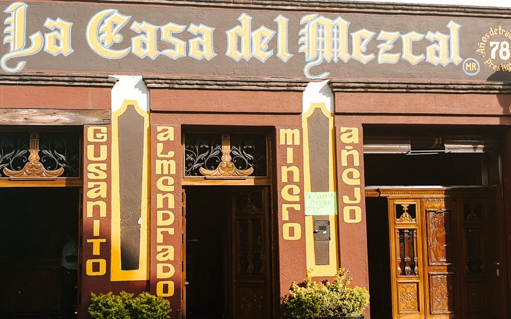 For the best Mezcal, visit La casa del Mezcal in Oaxaca Mexico or one of its many mezcalerias