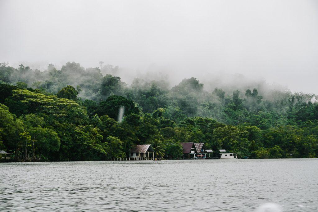 rivier in Guatemala
