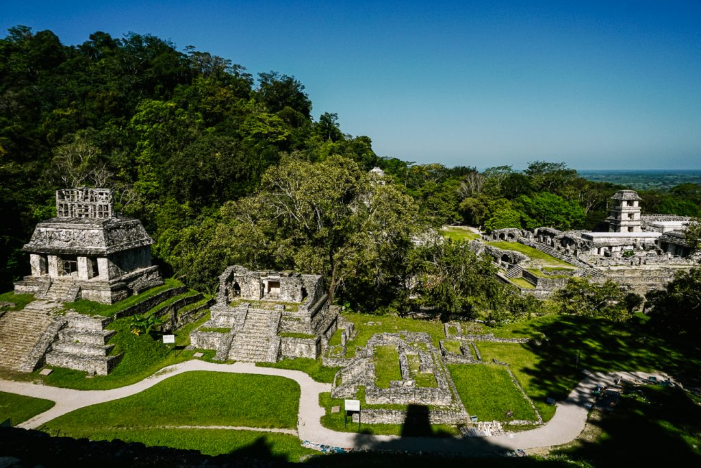 Palenque ruines Chiapas