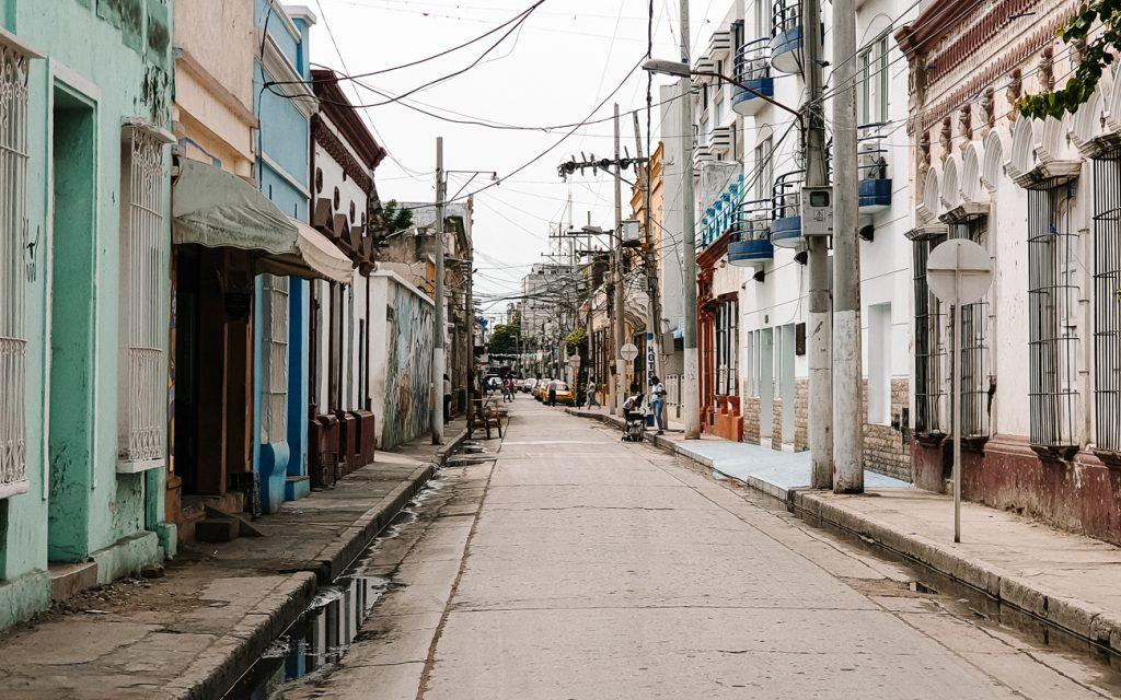 the colonial center Santa Marta