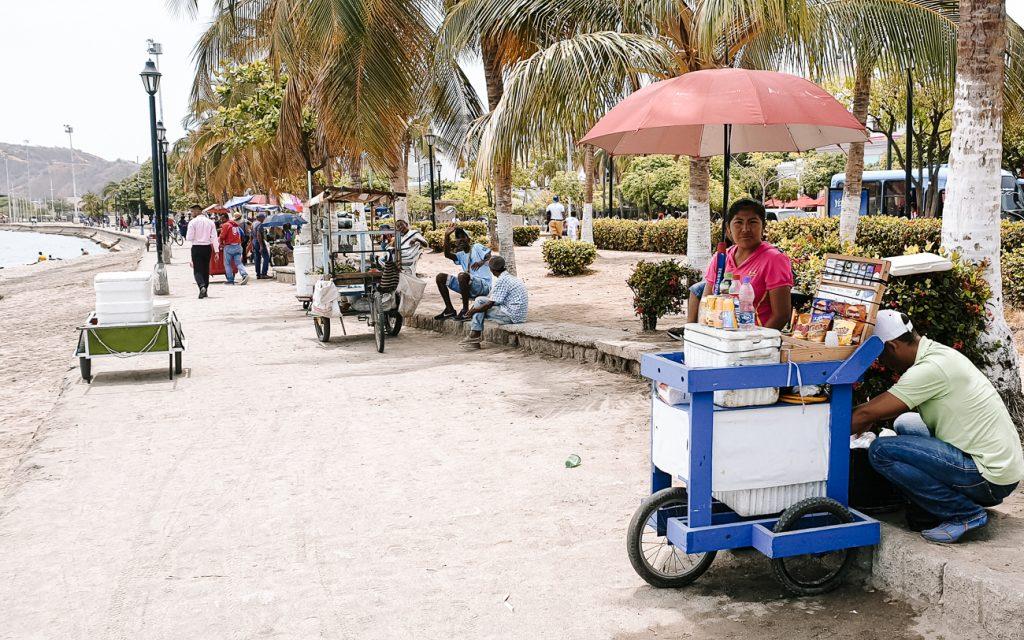 stroll along the seaside in Santa Marta
