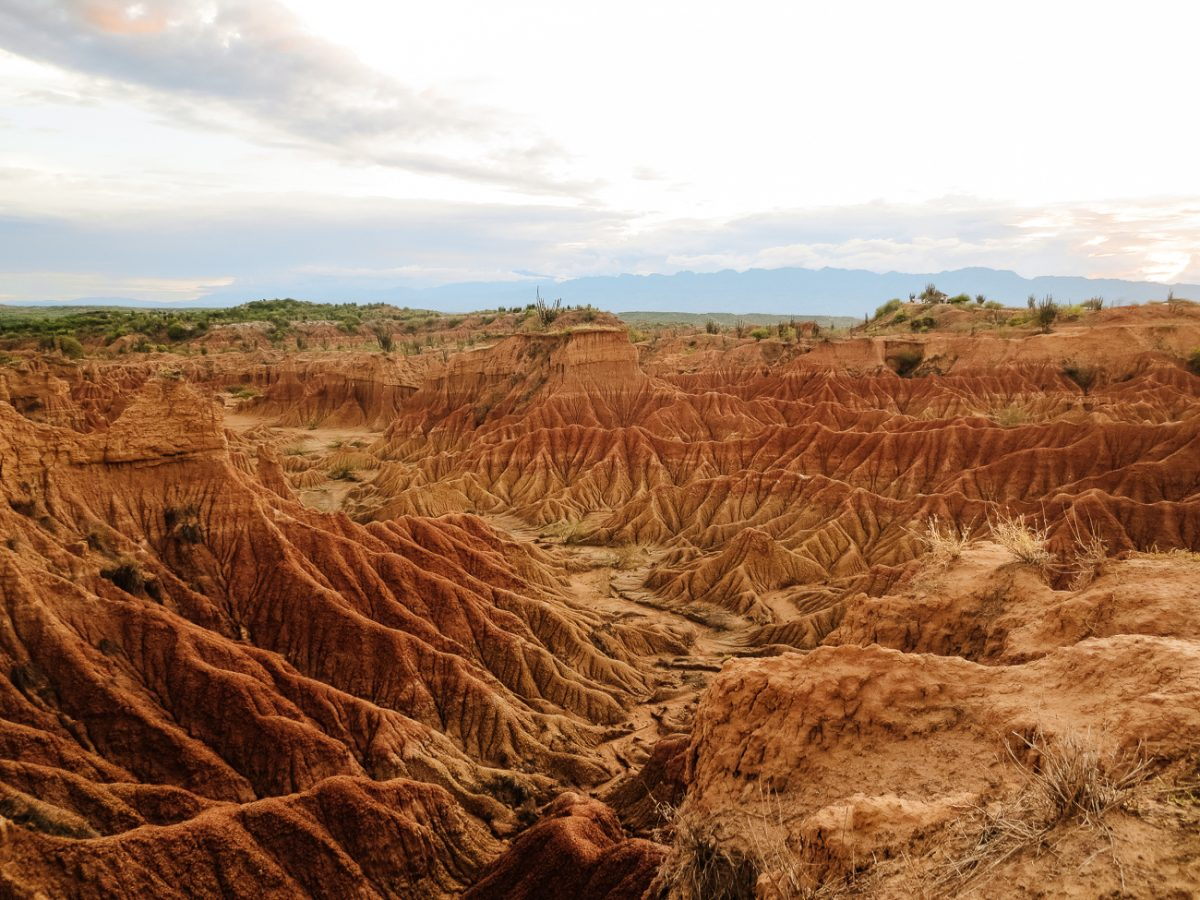Tatcoa desert in Colombia