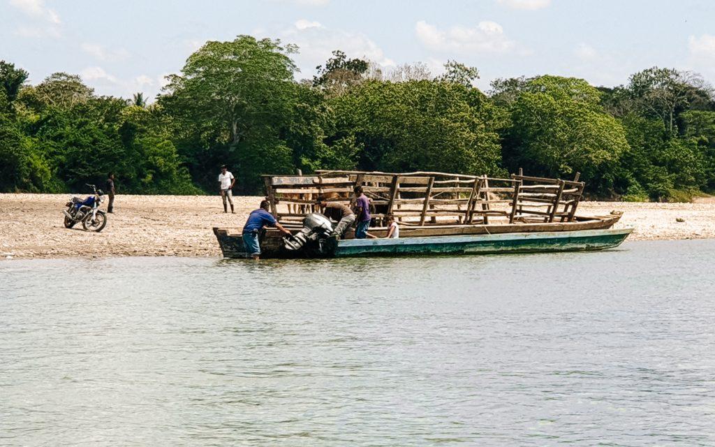boottocht usumacinta rivier