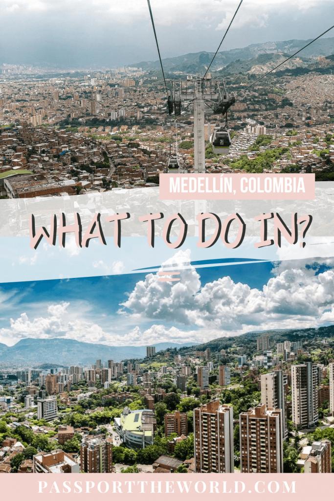Medellín Colombia pin