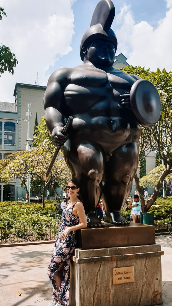what to do in Medellín | Botero square