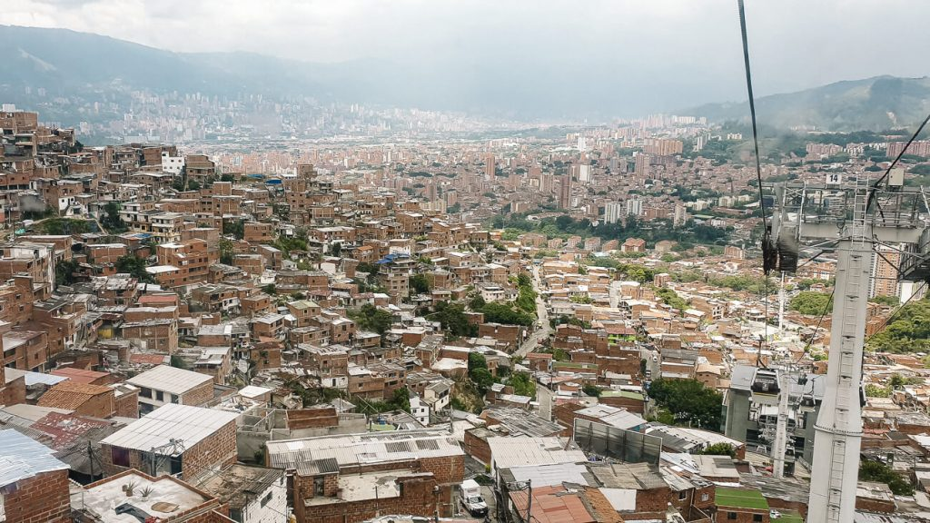 things to do in Medellín | cable car