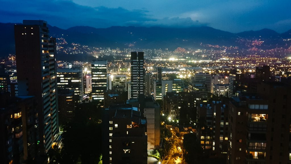 Medellín Colombia | night view