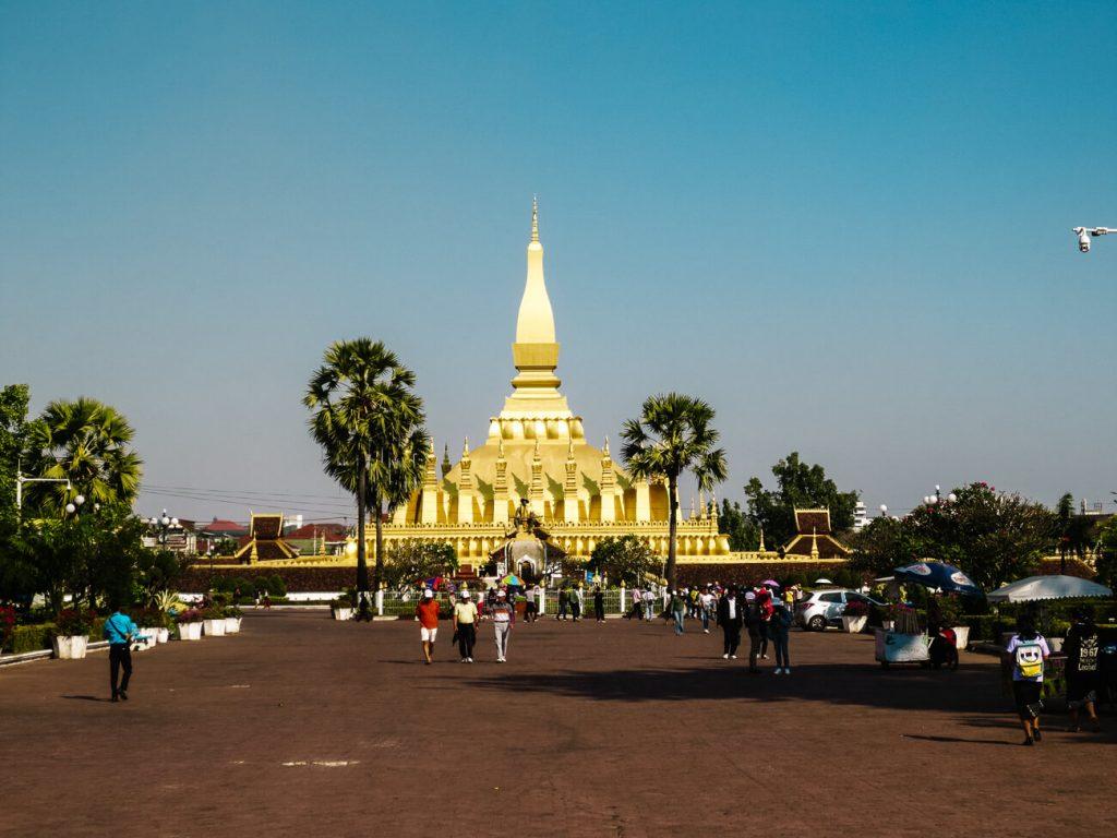 Vientiane bezienswaardigheden | Pha That Luang