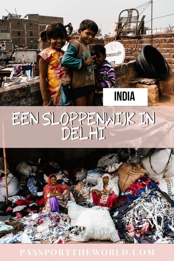 Pin sloppenwijk india, Reality Tours in Delhi