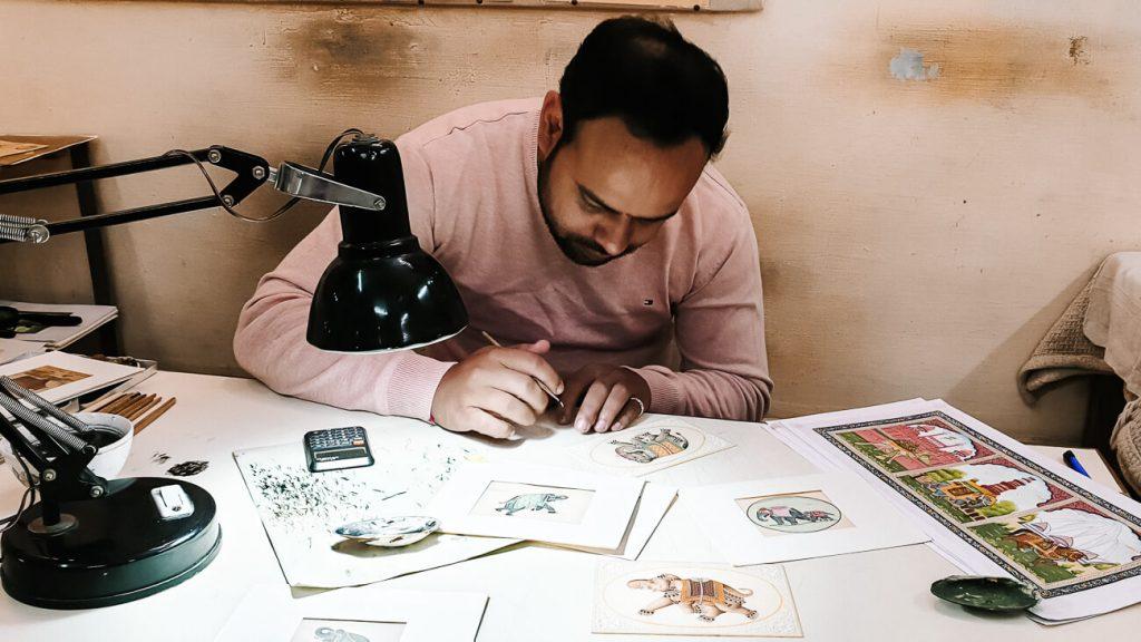 Bikaner Miniature arts