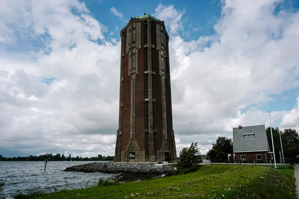 visit the watertower for beautiful views