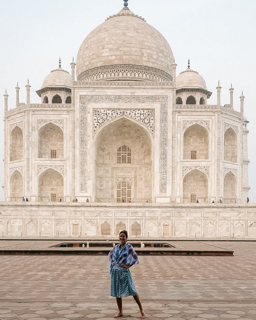 Taj Mahal by Passport the World