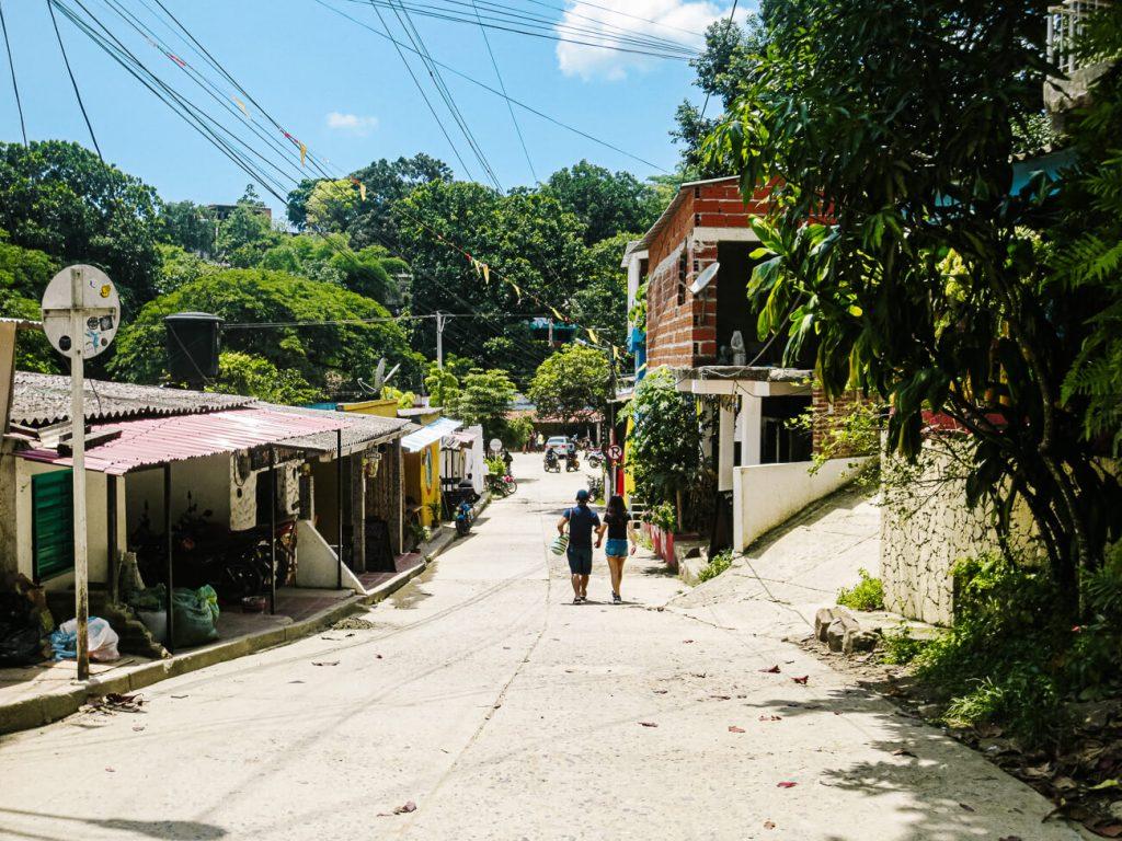 minca village