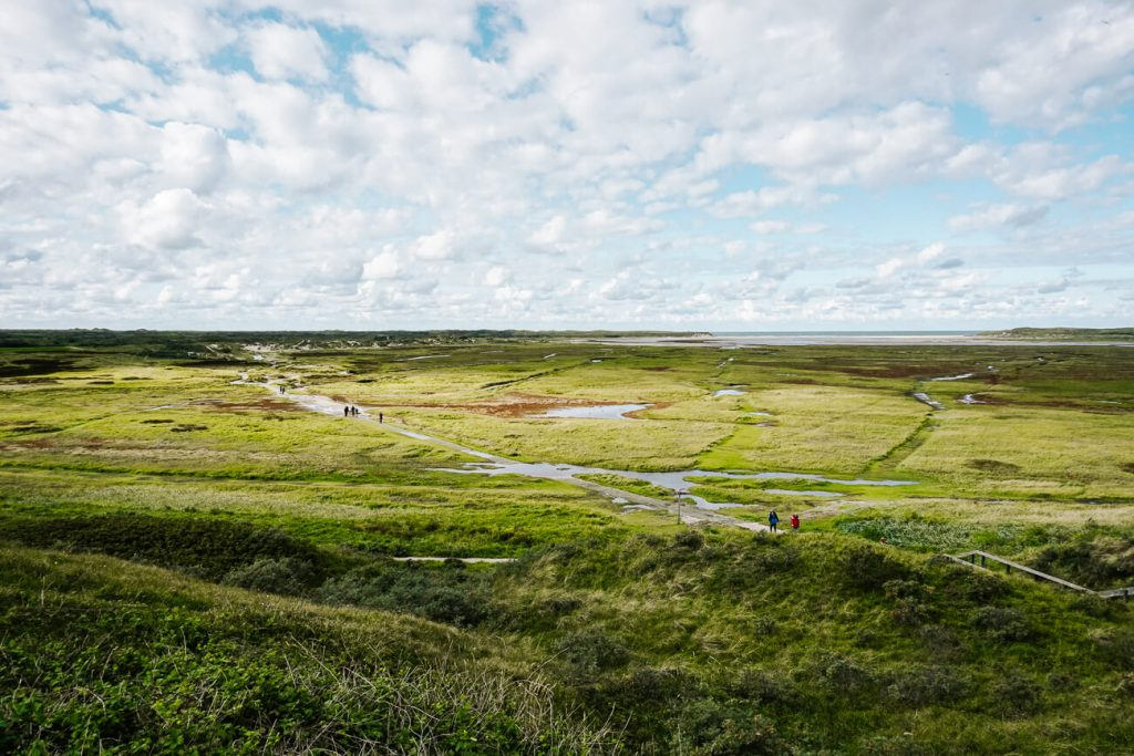 what to do on Texel  hike in de slufter