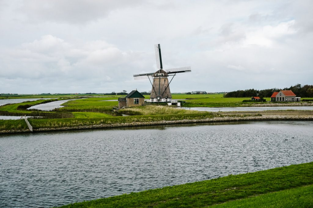 windmill Oost Texel Netherlands
