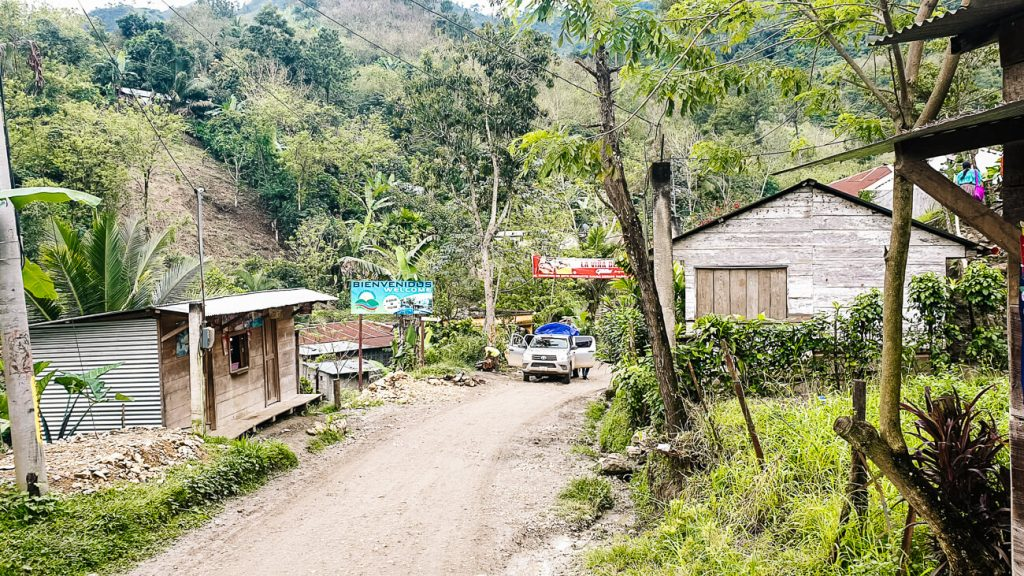 what to do in lanquin | stroll around the village + visit the Lanquin Caves Guatemala
