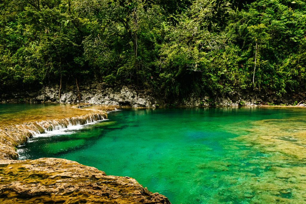 things to do in Semuc Champey | swim in the pools