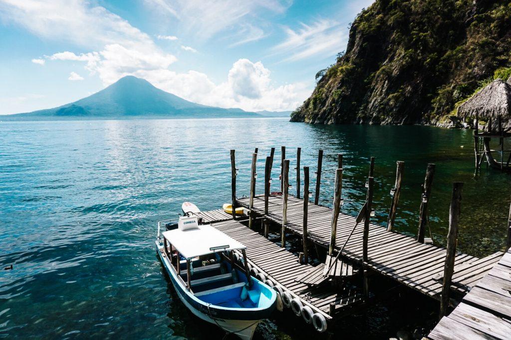 Vervoer rondom Lake Atitlan Guatemala