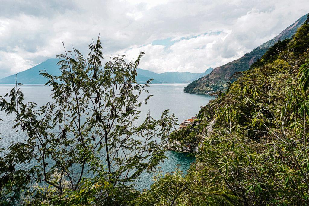 Lake atitlan tips - uitzicht