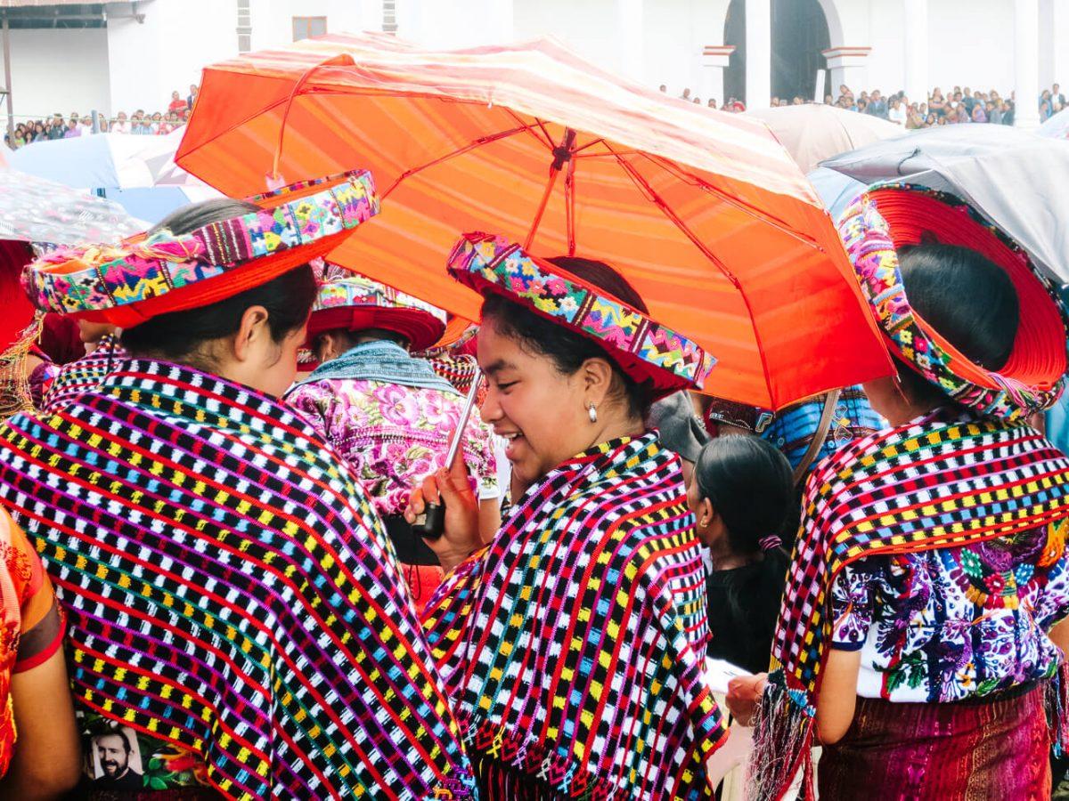 women at lake Atitlan | Guatemala 3 week itinerary
