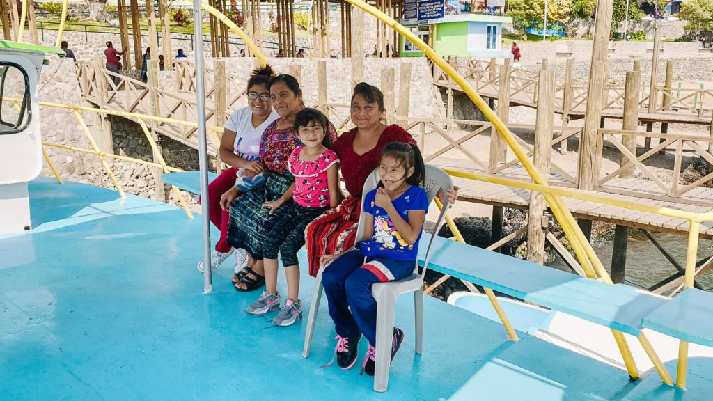 lokale mensen in Guatemala