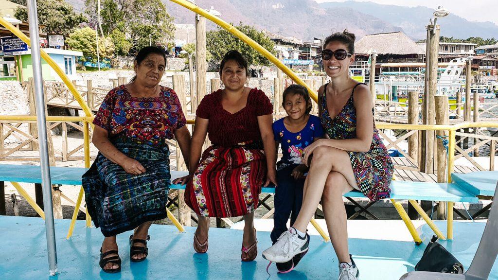 meet the locals in Panajachel