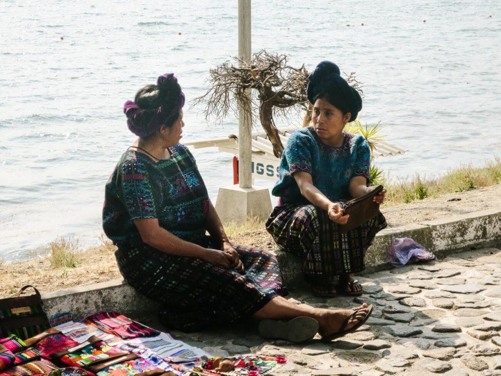 women in Panajachel Lake Atitlan Guatemala