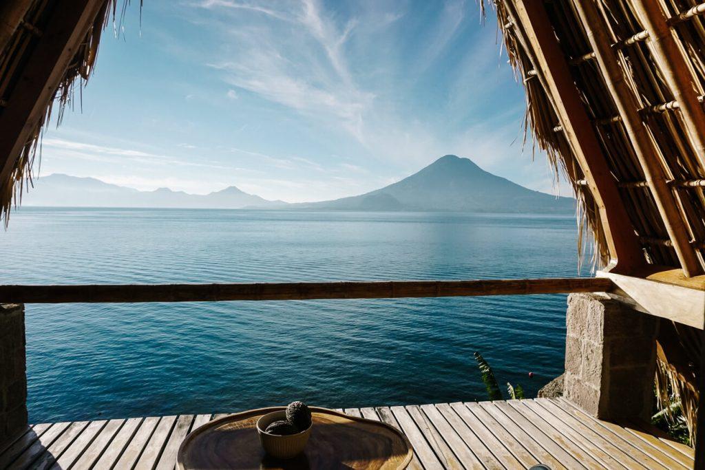 view La Fortuna Lake atitlan