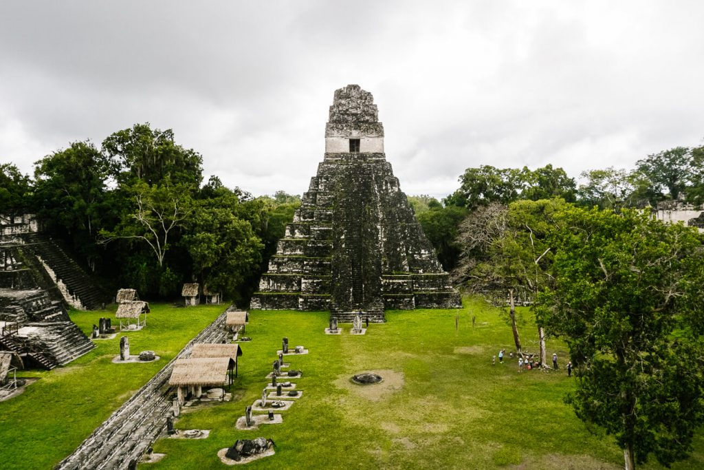Tikal National Park - plaza central