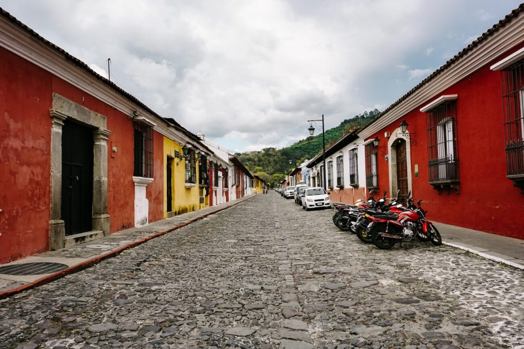 streets in antigua