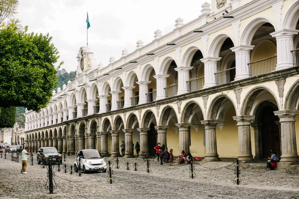 government palace in antigua