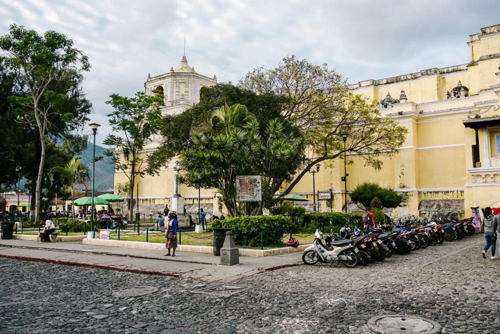 la merced church and square