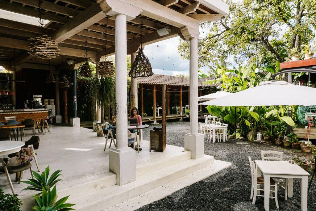 restaurant van Good Hotel in Guatemala