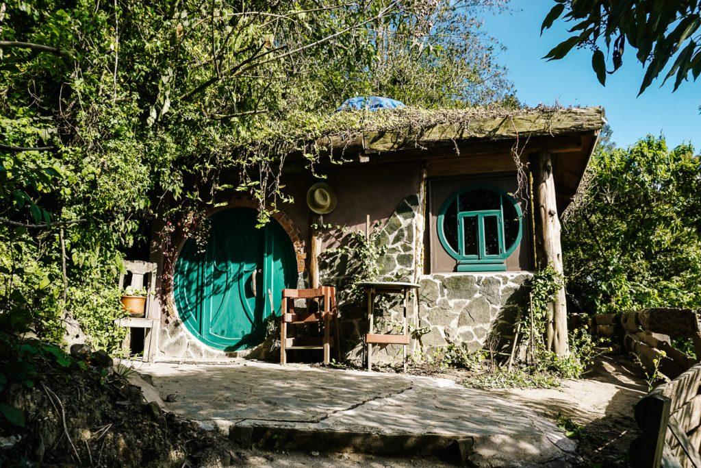 hobbit huisje in Hobbitenango