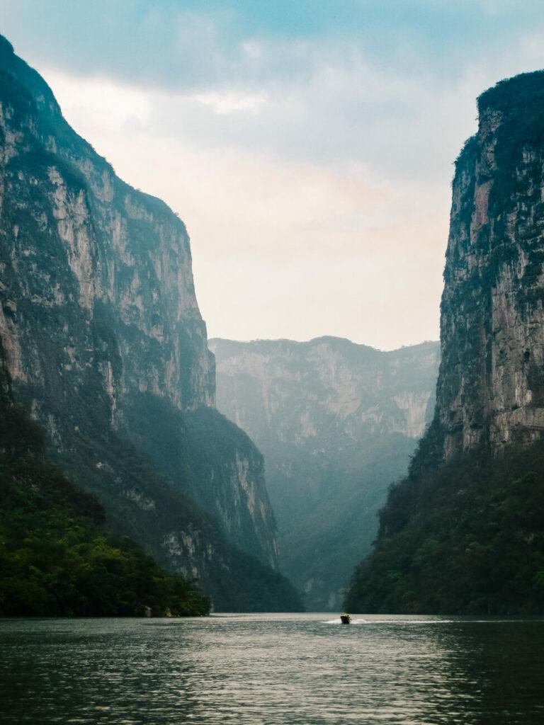 Canyon del Sumidero - een van de diepste kloven ter wereld