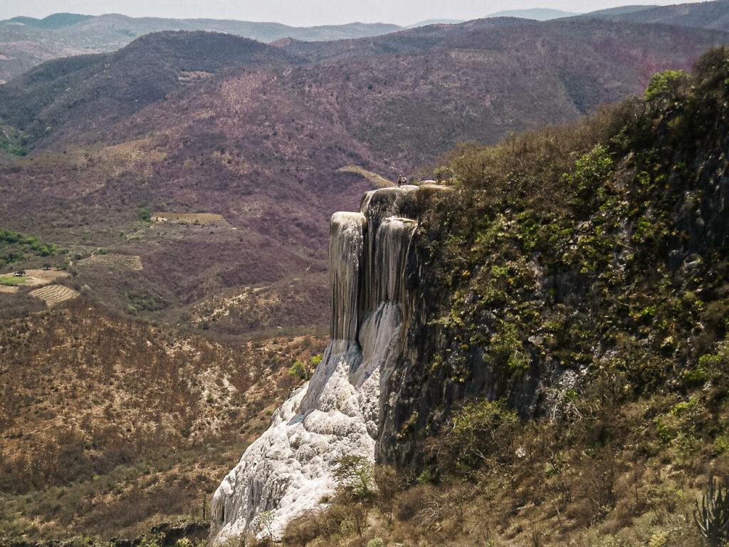 Hierve el Agua, een van de top bezienswaardigheden rondom Oaxaca
