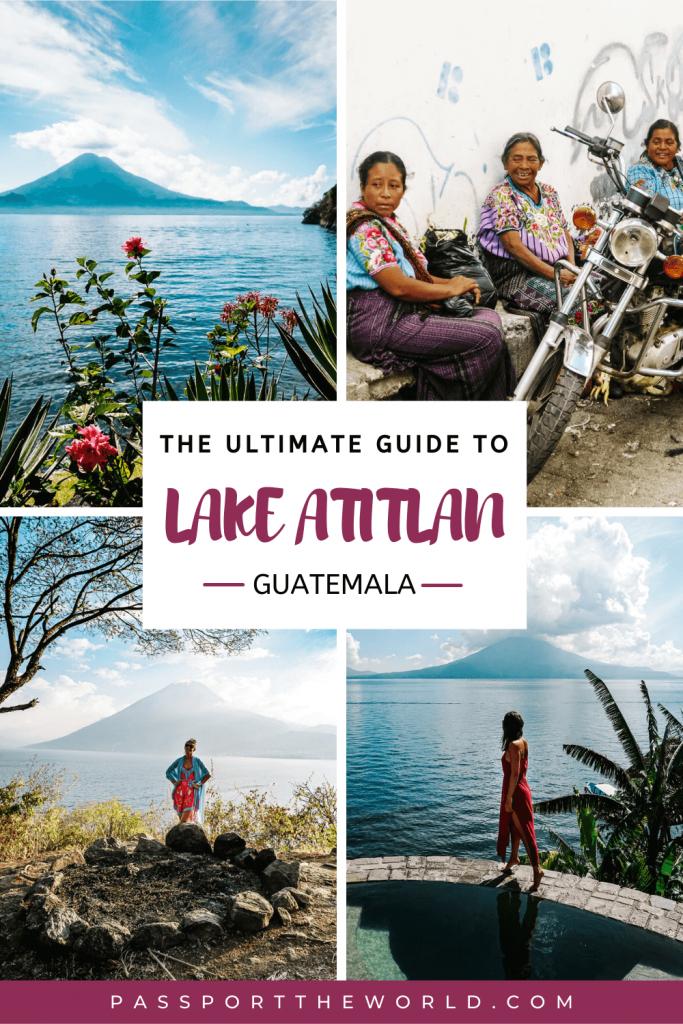 Lake Atitlan travel guide + things to do at Lake Atitlan | villages, hikes, tips for restaurants, hotels, photography + transportation.