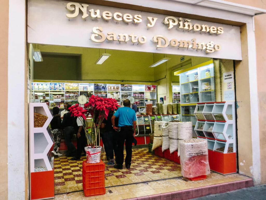 winkels met zoetigheden in Puebla